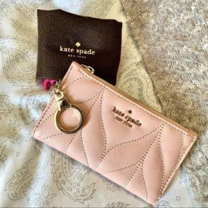 Kate spade briar lane quilted mikey wallet